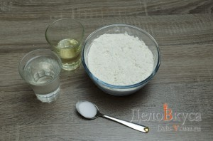 Штрудель с вишней: Ингредиенты для теста