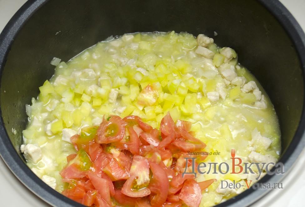 кабачки помидоры перец в духовке рецепт