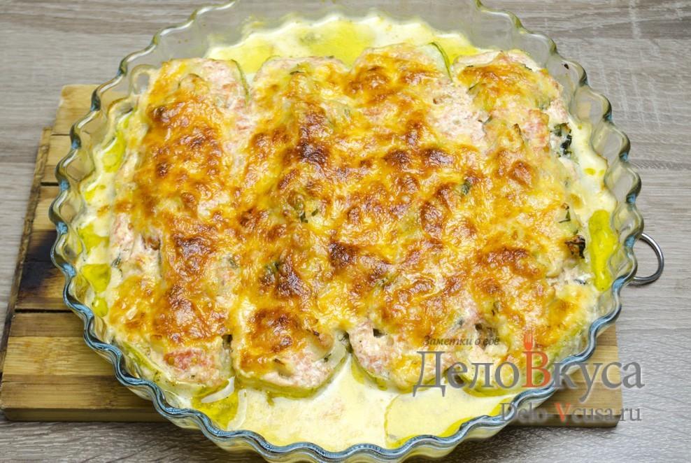 рецепты с кабачками и курицей в духовке