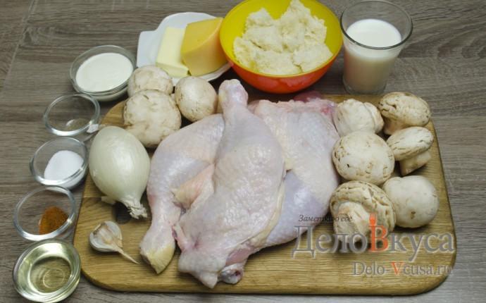 Фаршированные куриные ножки: Ингредиенты