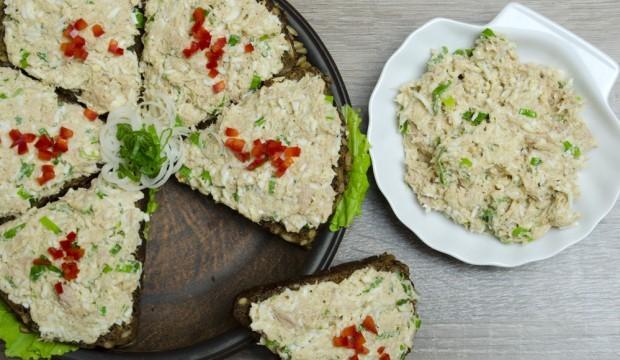 Бутерброды с тунцом рецепты с фото