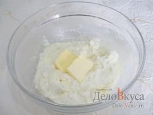 Запеканка из тыквы с творогом: Добавляем сливочное масло