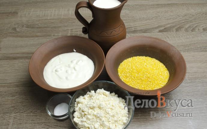 Кукурузная каша на сметане и сливках А-ля Банош: Ингредиенты