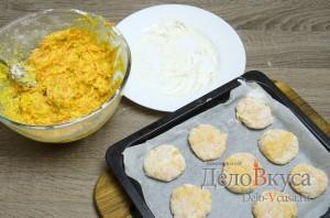 Морковное печенье с апельсиновой цедрой: Отправляем печенье в духовку