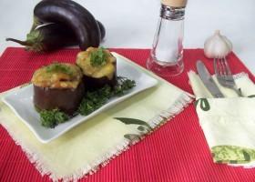 Фаршированные баклажаны с мясным фаршем в духовке