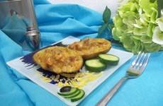 Фаршированная картошка в духовке с мясным фаршем: Запечь до готовности