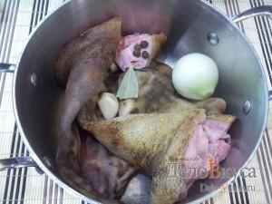 Маринованные свиные уши: Подготовьте уши