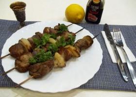 Свиной шашлык в духовке