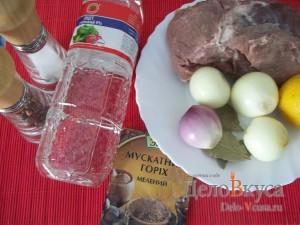 Свиной шашлык в духовке: Ингредиенты