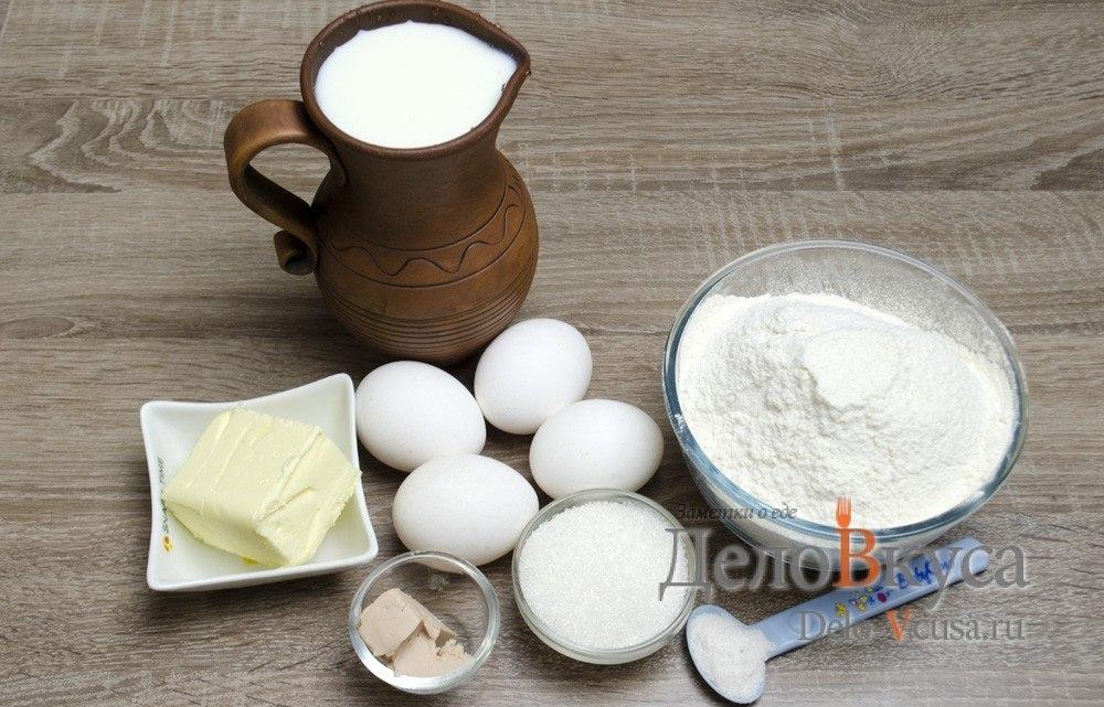 Блинчики на дрожжах и молоке - пошаговый рецепт с фото на ...