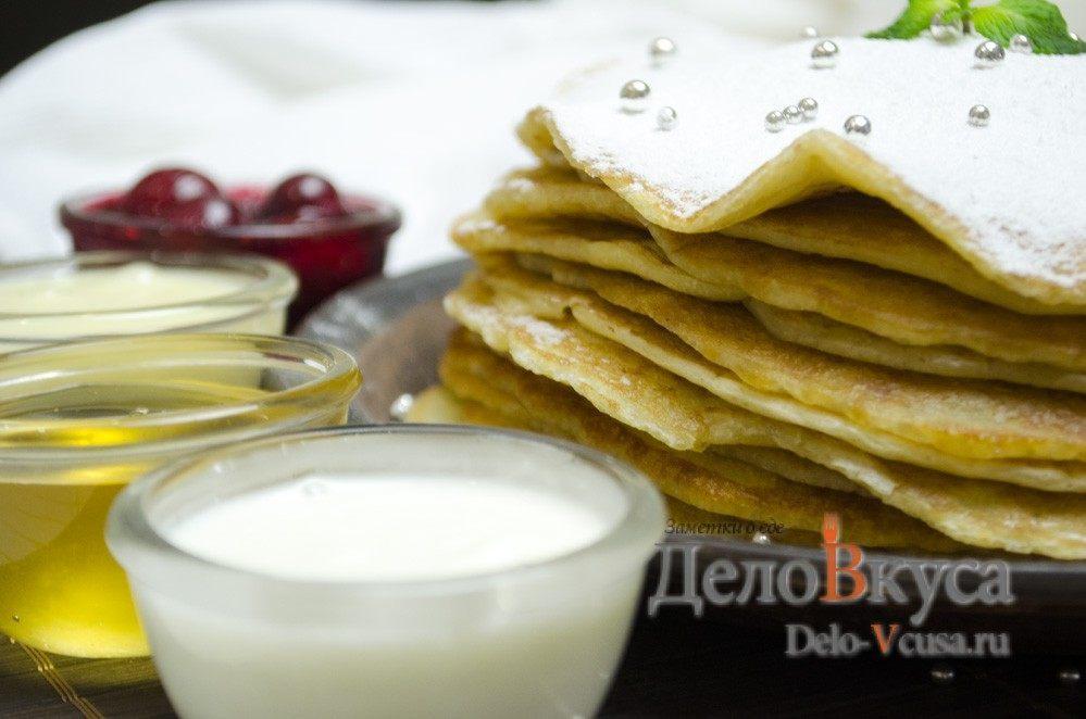 блины толстые рецепт на молоке и дрожжах рецепт
