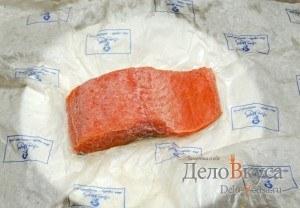Засолка красной рыбы: Заморозить рыбу