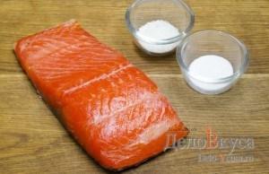 Красная соленая рыба: Ингредиенты