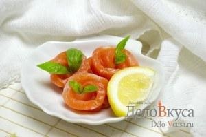 Красная соленая рыба: Или просто сервируем по вкусу