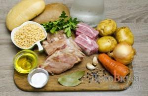 Гороховый суп: Ингредиенты