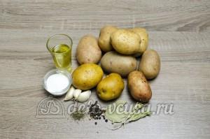 Картошка в мультиварке: Ингредиенты