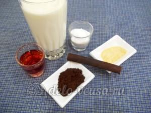 Желе кофе с коньяком: Ингредиенты