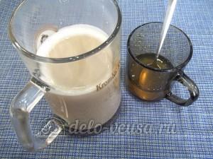 Желе кофе с коньяком: Добавить желатин