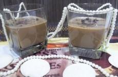 Желе кофе с коньяком
