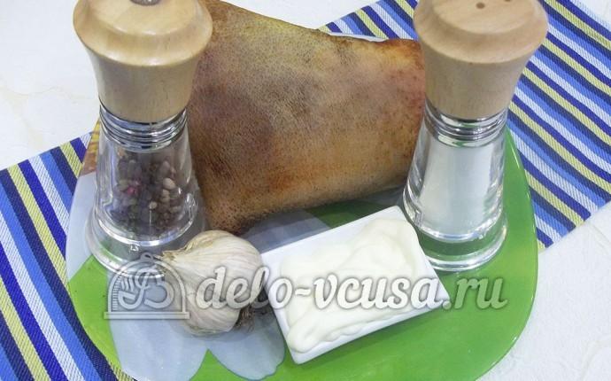 Свиная рулька в духовке: Ингредиенты
