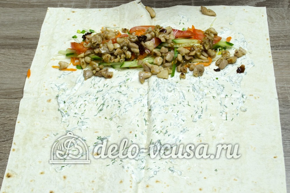 Салат из творога с укропом рецепт