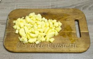 Суп с фасолью: Картошку порезать кубиками