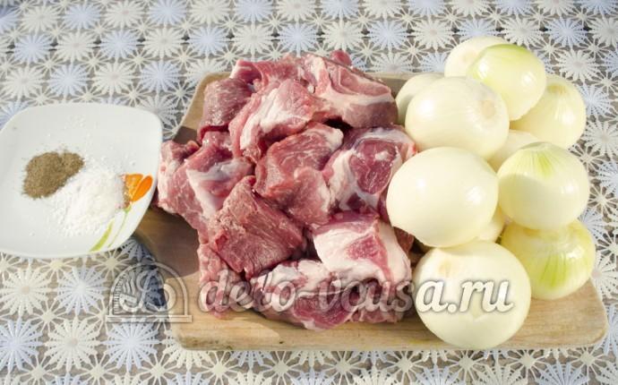 Шашлык из свинины: Ингредиенты