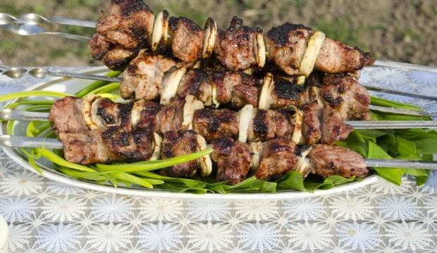 Шашлык из свинины подготовка мяса