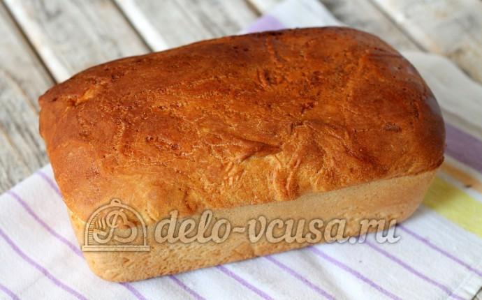 Пшеничный хлеб в духовке: Дать хлебушку остыть