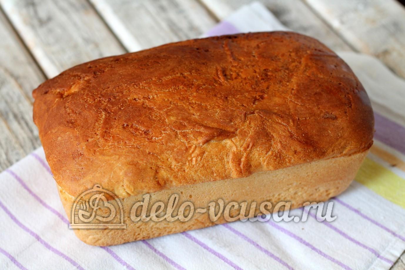 домашний пшеничный хлеб в духовке рецепты с фото