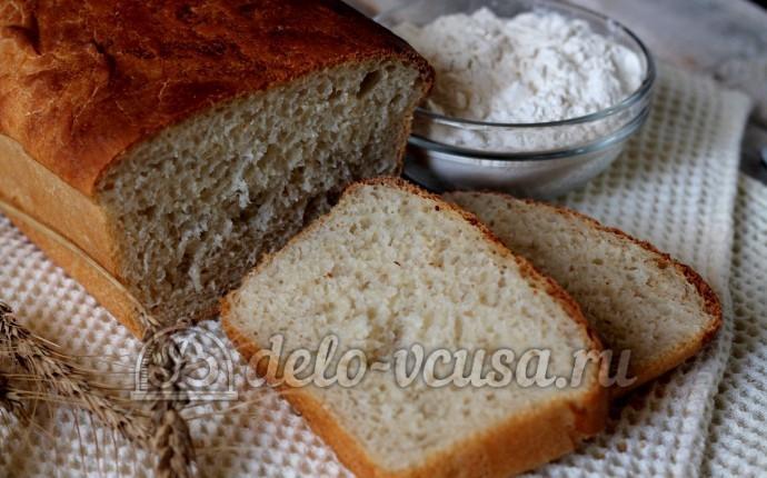 Пшеничный хлеб в духовке