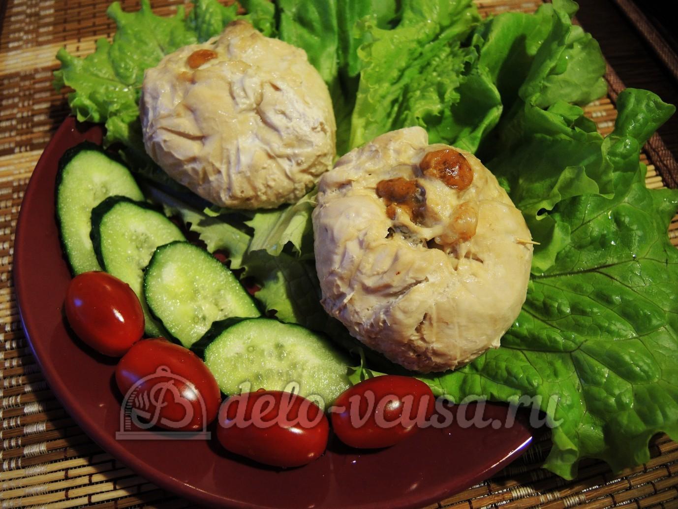 курица филе грибы рецепт