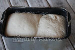 Пшеничный хлеб в духовке: Замесить тесто