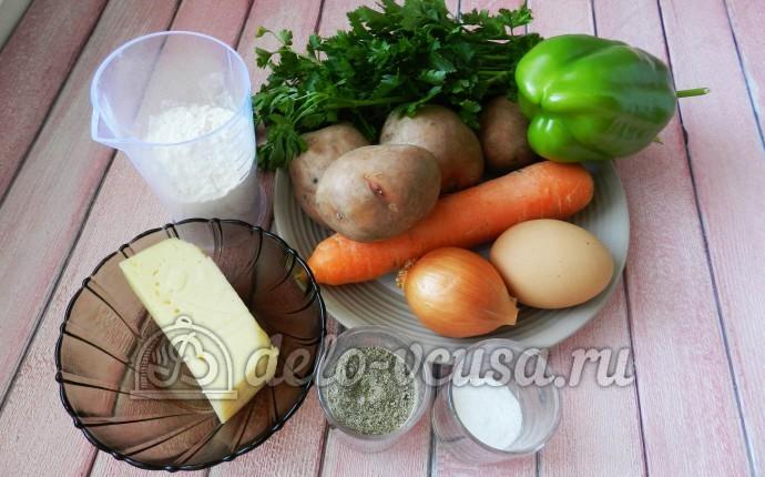 Суп с сырными шариками: Ингредиенты