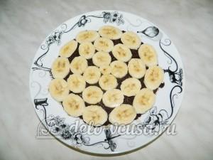 Торт без выпечки с кешью-кремом: Делаем банановую прослойку