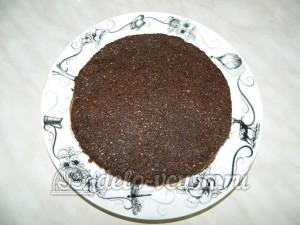 Торт без выпечки с кешью-кремом: Формируем второй корж