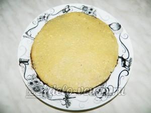 Торт без выпечки с кешью-кремом: Наносим крем