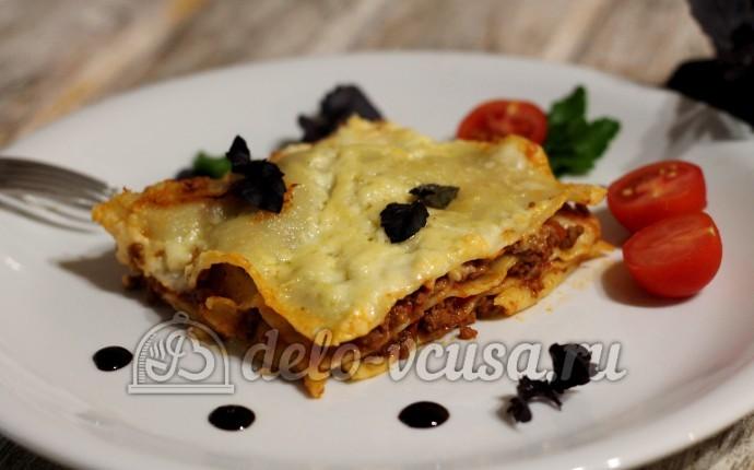 Лазанья: фото блюда приготовленного по данному рецепту