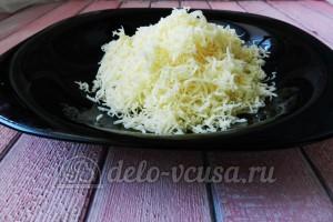 Суп с сырными шариками: Натереть сыр