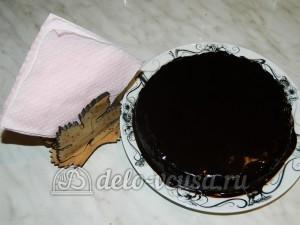 Торт без выпечки с кешью-кремом: Убираем торт в холодильник