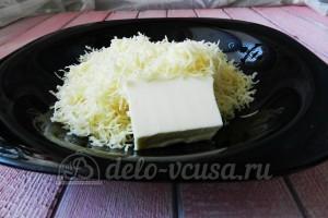 Суп с сырными шариками: Добавить сливочное масло