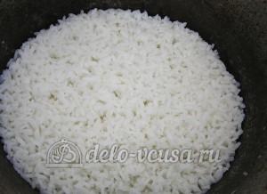 Роллы Филадельфия: Варим рис
