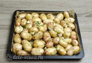 Молодая картошка в духовке: Отправить картошку в духовку