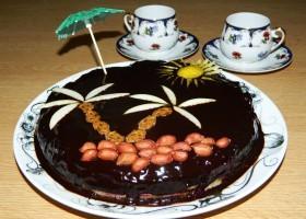 Торт без выпечки с кешью-кремом