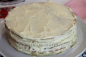 Медовый торт: Формируем торт