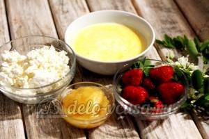 Клубничное мороженое: Ингредиенты