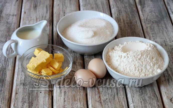 Медовый торт: Ингредиенты