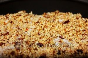 Плов с грибами в мультиварке: Добавляем рис