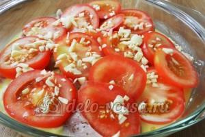 Свинина с овощами в духовке: Добавим чеснок
