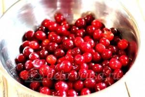 Варенье из вишни в мультиварке: Вишню помыть
